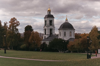 «Late Autumn in Tsaritsyno. Church of the Blessed Virgin»