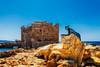 Paphos, Cyprus (NicoTrinkhaus) Tags: paphos cyprus europeancapitalofculture2017 paphoscastle capitalofculture statue