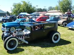 HotRod sedan (bballchico) Tags: hotrod sedan billetproof carshow