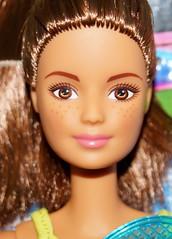 (farmspeedracer) Tags: barbie doll toy woman girl playline mattel 2017 career icanbe set five 5 brunette freckles tennis sport