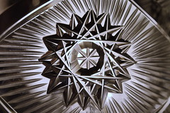Cut Glass Creamer Pitcher (Caroline.32) Tags: glass creamer macromondays maxro nikond3200 50mm18 extensiontube12mm bowercloseuplens4 backlit foundinthekitchen