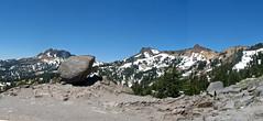Pleistocene glacial erratic & Brokeoff Caldera (near Mt. Lassen, California, USA) 1 (James St. John) Tags: brokeoff mountain caldera tehama mt lassen volcano national park california pleistocene glacial erratic erratics