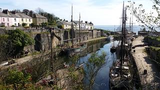Charlestown, Cornwall.