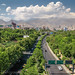 Cityscape from Tabiat bridge, Tehran, Iran