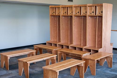 Kahl Gymnasium Locker Room