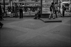 2_DSC7839 (dmitryzhkov) Tags: day daylight sony alpha black blackandwhite bw monochrome white bnw blacknwhite art city europe russia moscow documentary photojournalism street urban candid life streetlife outdoor streetphotography streetphoto moment light shadow dmitryryzhkov people portrait streetportrait face man person stranger sit seat sitdown beard rogue beggar tramp metro subway terminal station stop scene crossing crosswalk lightbox