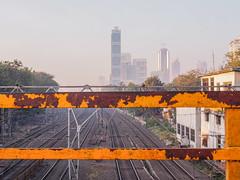 Mumbai 2015 (hunbille) Tags: india mumbai bombay birgittemumbai2lr train station