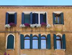 Italian hues for those who love colors (B℮n) Tags: st andrew's church chioggia oldest clock veneto lagoon island cathedrale fishmarket harbor fishing port pace life italië italia italy ronams clodia seafood panorama panoramico boat ships tour locals canals boats unspoiled bridgde town colors tourism vacation holiday summer architecture historic authentic canal vena tower standrew dondi numerals 12sunburst sun hours ancient corsodelpopolo bike biking mainstreet hues italian house color colour 50faves topf50 100faves topf100