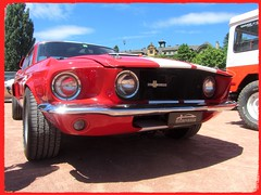 Ford Mustang Shelby GT 500, 1967 (v8dub) Tags: ford mustang shelby gt 500 1967 schweiz suisse switzerland neuchâtel american muscle pkw pony voiture car wagen worldcars auto automobile automotive old oldtimer oldcar klassik classic collector
