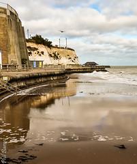 Louisa Bay reflection (philbarnes4) Tags: broadstairs thanet kent england coast view dslr philbarnes