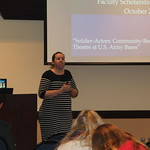 Karen Dabney talks about theatre in U.S. army bases.