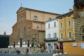 Quiet morning in Faenza