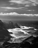 The coast just off Honoapiilani Highway (TheQ!) Tags: leica rangefinder 50mm leicam monochrome monotone blackwhite hawaii maui 1017
