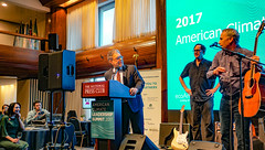 2017.10.29 Senator Al Franken, US Climate Leadership 2017, Washington, DC USA 0204