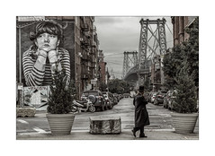 Williamsburg (Nico Geerlings) Tags: jewishneighborhood jewishman williamsburg williamsburgbridge brooklyn newyorkcity nyc ny usa mural wallpainting art mood atmosphere cinematic ngimages nicogeerlings nicogeerlingsphotography