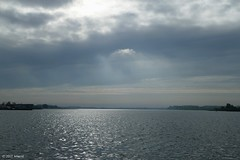 Morning light over the lake (jehazet) Tags: lauwersmeer sky clouds landscape landschap wolkenlucht ochtendlicht morning jehazet