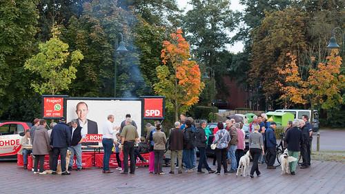 """""""Burgerdialog"""" mit vielen AnwohnerInnen in Metjendorf - vielen Dank für die spannenden Gespräche!"""