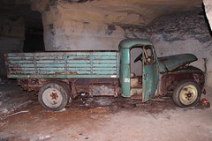 Citroen U23 B 2 (Raphael Drake) Tags: quarrex carriere abandoned abandonne epave wreck decay decayed quarry citroen u23 camion truck