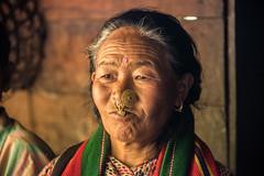 Gocha-la trek in Sikkim, India (David Ducoin) Tags: asia dzongri gochala hike himalaya india jeweleri kangchenjunga nationalpark old piercing portrait sikkim trek woman womanonly gangtok in