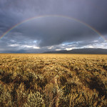 Rainbow and sagebrush, Grand Teton National Park, Jackson, Wyoming thumbnail
