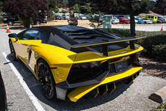 Loud (Hunter J. G. Frim Photography) Tags: supercar car week 2017 carweek carmel monterey lamborghini aventador sv coupe roadster convertible lp7504 awd v12 italian rare carbon white yellow red purple lamborghiniaventador lamborghiniaventadorsv lamborghiniaventadorsvlp7504