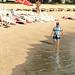 Ali at the beach, Split, Croatia, Photo by CRudin