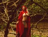 Red Riding Hood (danieldrew2) Tags: tattooedwoman boobs kneelengthboots woods cloaked