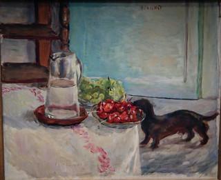 Pierre Bonnard - Still Life with Basset Hound, 1912 at National Gallery of Art Washington DC