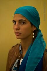 conturbant lady (simone.pelatti) Tags: pearl earing lady vermeer yellow portrait sonya6000