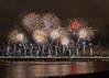 MERSEY GATEWAY BRIDGE FIREWORKS (BigAl7) Tags: mersey gateway bridge fireworks widnes