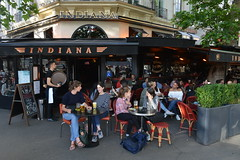 Place de la Bastille (Eddie C3) Tags: parisfrance vacationphotos streetscenes sidewalkstories restaurants bistros people placedelabastille