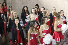 Stanford Dollies come out of the tunnel (vpking) Tags: stanfordcardinal oregonducks pac12 collegefootball