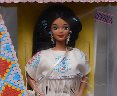 Native American Barbie, 1992 (luci_fair) Tags: nativeamericanbarbie 1992