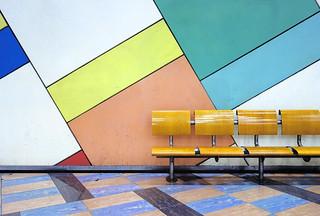 Olaias Metro station, Lisbon