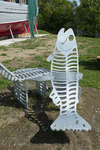 Gaspe Fish Shaped Seats