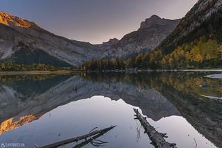 Sunrise - Lac de Derborence