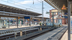 Rostock Hauptbahnhof (Zarner01) Tags: canon canoneos750d sigma1750f28oshsm sigma eos digital outdoor bahnhof deutschebahn db regio dbregio hauptbahnhof rostock hansestadt germany deutschland mecklenburgvorpommern