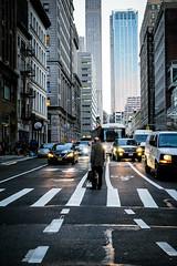 Rush Hour (cvsta) Tags: city tribeca street canon 16mm nyc manhattan 35mm