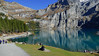 kandersteg_078_16102017_14'12 (eduard43) Tags: lake see oeschinensee thunersee kandersteg spiez berge mountains landschaften landscape train eisenbahn 2017 wandern hike