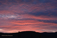 Amazing Pink Dusk in France (khalid.lebdioui) Tags: dusk pink mountains sunset landscape nature discovery nikon d5200 flickr sky skyporn photo view photography photographer