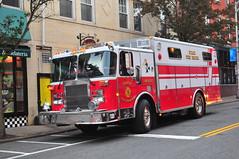 Nyack Fire Department Nyack Fire Patrol Rescue 10 (Triborough) Tags: ny newyork rocklandcounty nyack nfd nyackfiredepartment nyackfireparol firetruck fireengine rescue rescue10 spartan saulsbury