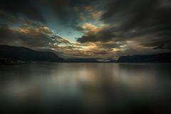 Sunset in the Norwegian Fjords (por agustinruizmorilla) Tags: sunset north ocean beautiful norway naturaleza paisaje natur fjords fiordos agustin ruiz morilla norwegian