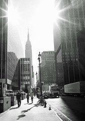 Empire State Building (purserd99) Tags: empirestatebuilding newyork leicam6ttl ilfordfp4 elmarit28mm