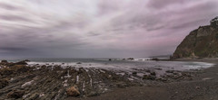 Atardecer en Campiechu. (Amparo Hervella) Tags: playa playadecampiechu asturias españa spain atardecer puestadesol nube panorámica color naturaleza largaexposición d7000 nikon nikond7000