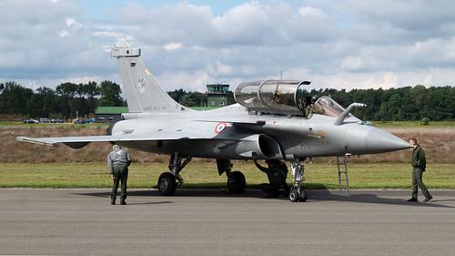 Kleine Brogel 09-09-2017, Dassault Rafale B, France Air Force