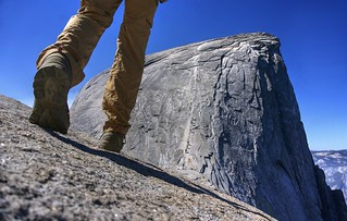 Reaching Half Dome