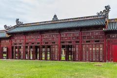 Císařské chodby (zcesty) Tags: vietnam12 dveře citadela architektura vietnam hue dosvěta tphuế thừathiênhuế vn