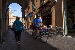 "Bologna (Italy) -  ""Il quadrilatero"" - Via Clavature (Massimo Battesini) Tags: nationalgeographic bologna emiliaromagna italia it worldtrekker worldcitycenters olympusem10markii olympus em10markii mzuikodigitaled124028 zuiko olympus1240mmf28 bicicletta vélo bicycle biciclettes bicicletas biciclette bike bikes centrostorico zentrum centreville centromedievale centremédiéval medievalcenter centromedieval città ville city stadt town ciudad photographiederue streetphotography fotografiaderua photosdelavie escenacallejera ilquadrilatero italien italy italie viaclavature europe europa"