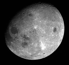 Far Side of the Moon (sjrankin) Tags: 14october2017 edited nasa grayscale moon farside osirisrex