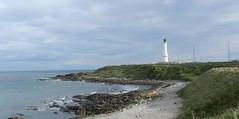 Girdle Ness Lighthouse, Aberdeen, October 2017 (allanmaciver) Tags: girdle ness lighthouse aberdeen robert stevenson 1833 greyhope bay visit style design class history historic 1991 automated north sea warning ships mariners east coast allanmaciver